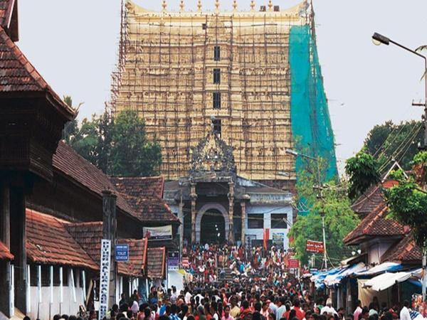 Image result for పద్మనాభస్వామి దేవాలయం
