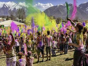 Best Places Celebrate Holi India