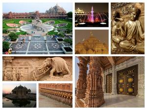 One Of The World Largest Hindu Temple Akshardham