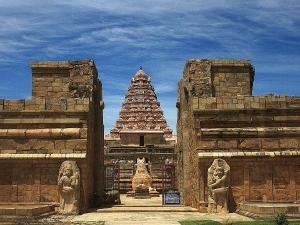 The Great Gangaikonda Cholapuram Temple Architecture In Tamil Nadu