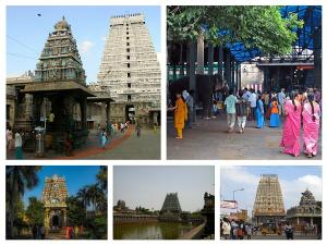 Five Main Shiva Temples In South India