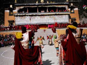 Hemis Gompa Monastery Festival