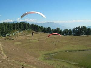 Flying High At Sanasar In Jammu Kashmir