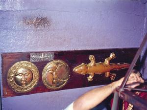 Gold Silver Lizard In Kanchipuram