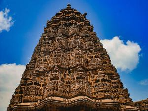 Somanathapur Chennakesava Temple Stone Carving Works Karnataka