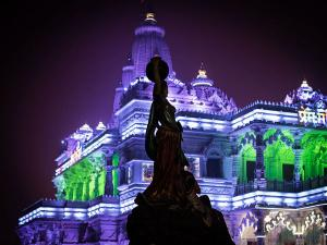 Lord Krishna Prem Mandir Virndavan Uttar Pradesh