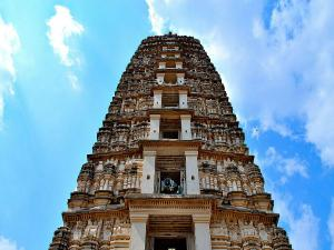 Tallest Temple Tower Andhra Pradesh