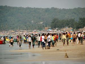 Calangute One The Best Beach Goa