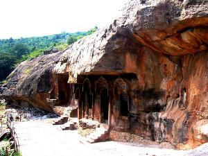 Guntupalli Group Buddhist Monuments Andhra Pradesh