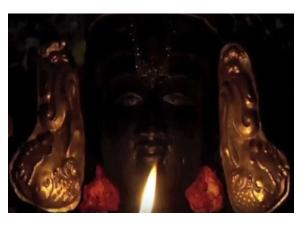 The God Who Opens His Eyes Kari Varadaraja Perumal Temple