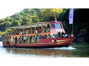 A Boat Trip On The Godavari River The Papi Hills