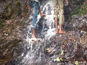 Kailasakona Water Falls Telugu