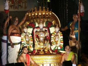 Brahmotsavalu Tirumala
