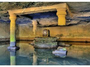 Amazing Cave Temple Kedareswar Temple