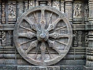 Konark Sun Temple Which Is Dedicated God Surya