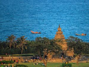 Beach Facing Temples South India Telugu