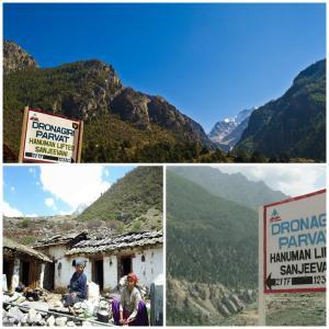 Dronagiri Uttarakhand India Where Worshipping Lord Hanuman I