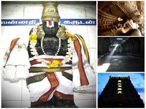 Varadaraja Perumal Temple Were We Can See Gold Silver Lizard