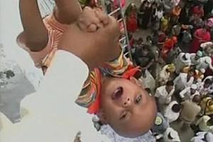 Nagaral Tossing Babies From Roof The Temple