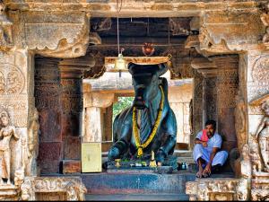 Biggest Monolithic Nandi Statues India
