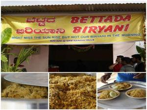 Bettada Biriyani Near Nandi Hills Timings Price Specialiti