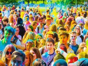 Offbeat Places Celebrate Holi India
