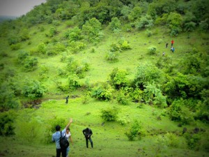 Natural Beauty Ananthagiri Hills Near Viakrabad Telangana
