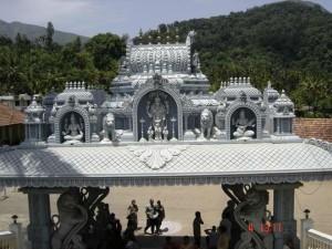 Shri Adhishakthyathmaka Annapoorneshwari Ammanavaru Temple Horanadu