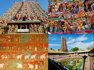 Wonders India Meenakshi Temple