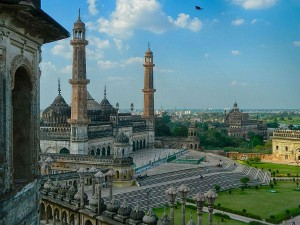 Gravity Defying Palace At Lucknow