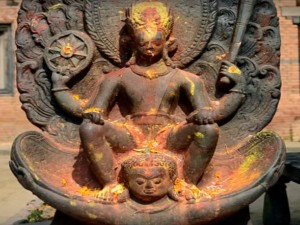 The Ancient Hindu Temple Changu Narayan Dolagiri