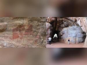 Bhimbetka Rock Shelters Telugu