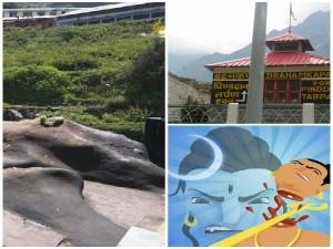 A Way Hindu Holy Place Brahma Kapal Near Badrinath