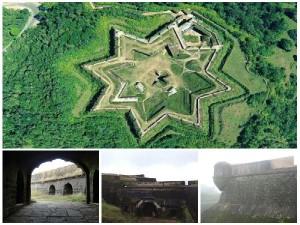 Star Shaped Manjarabad Fort Near Hassan Karnataka