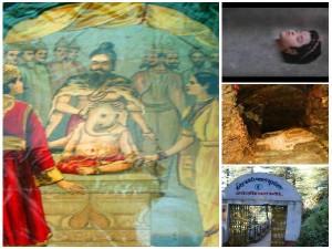 Patal Bhuvaneshwar Wher Shiva Cuts His Son Vinayaka Head