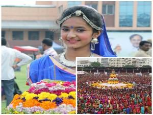 Bathukamma Telangana S Floral Festival Date Importance