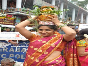 Celebrations Bonalu Festival Telangana