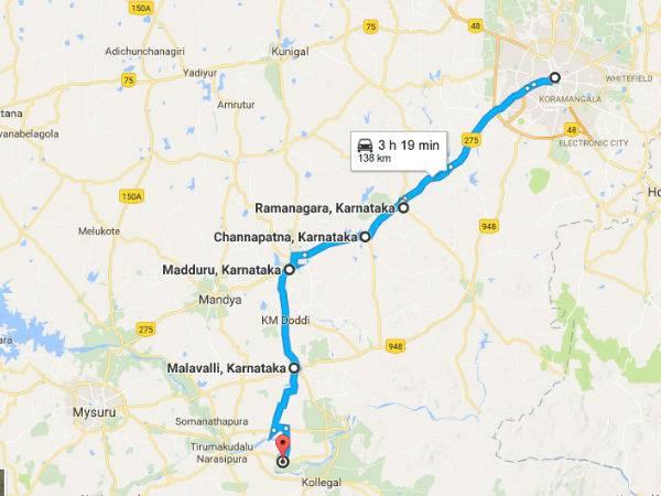 Bangalore Talakadu Road One Day Trip