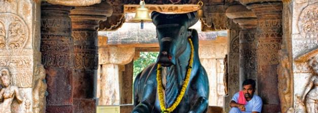 భారత దేశంలో ఏక శిలా నంది విగ్రహాలు చూశారా